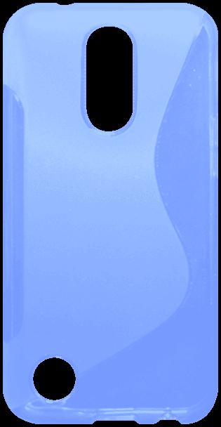 LG K10 2017 (M250N) szilikon tok s-line kék