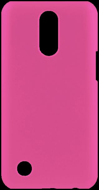 LG K10 2017 (M250N) kemény hátlap gumírozott rózsaszín