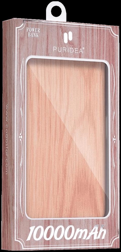 ASUS Zenfone 5 (ZE620KL) power bank - külső akkumulátor 10000 mAh világos faminta