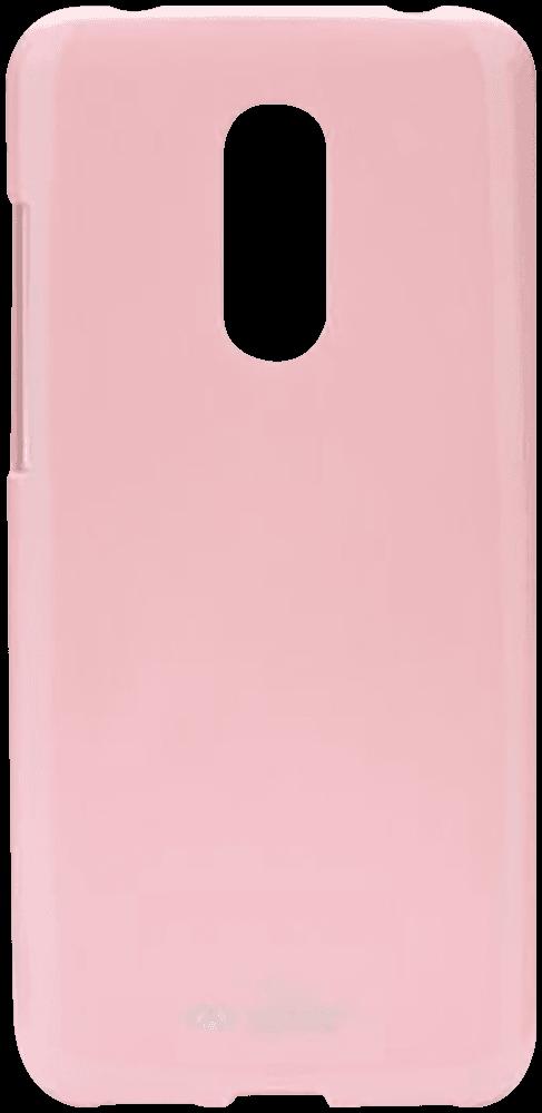 Xiaomi Redmi 5 Plus szilikon tok gyári MERCURYCASE matt babarózsaszín