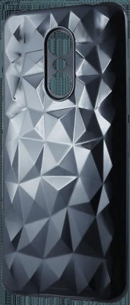Xiaomi Redmi 5 Plus szilikon tok 3D gyémántmintás fekete