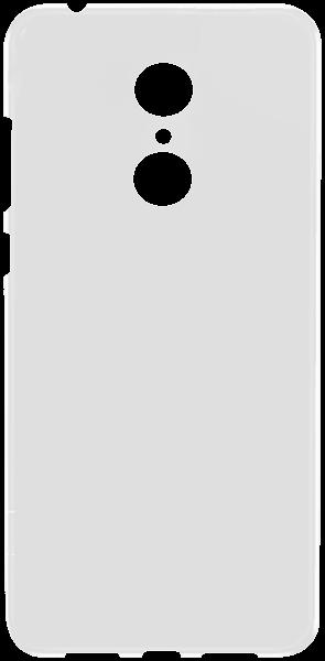 Xiaomi Redmi 5 szilikon tok matt-fényes keret fehér
