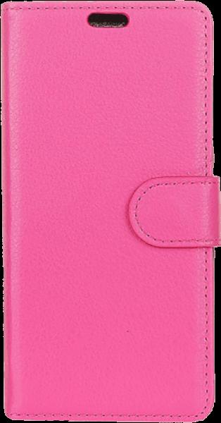 ASUS Zenfone Max Pro (M2) ZB631KL oldalra nyíló flipes bőrtok asztali tartó funkciós rózsaszín