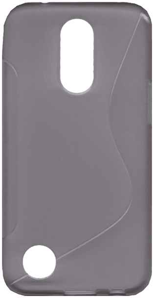 LG K10 2017 (M250N) szilikon tok s-line szürke