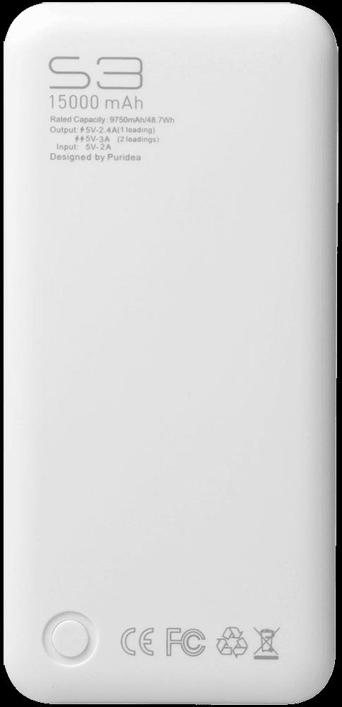 Google Pixel 2 power bank - külső akkumulátor 15000 mAh fekete