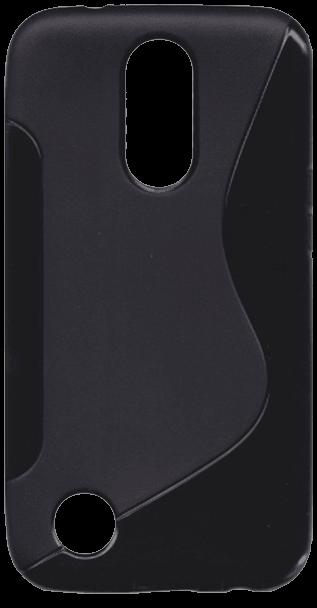 LG K10 2017 (M250N) szilikon tok s-line fekete