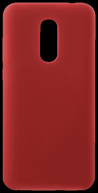 Xiaomi Redmi 5 Plus szilikon tok fényes piros