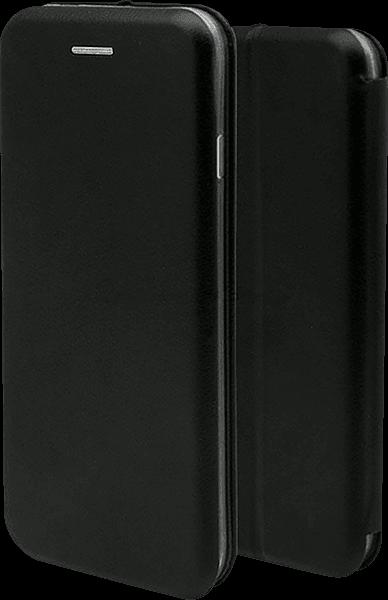 Xiaomi Redmi 5 Plus oldalra nyíló mágneses flipes bőrtok fekete