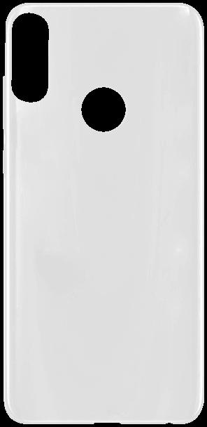 ASUS Zenfone Max Pro (M2) ZB631KL kemény hátlap gumírozott átlátszó