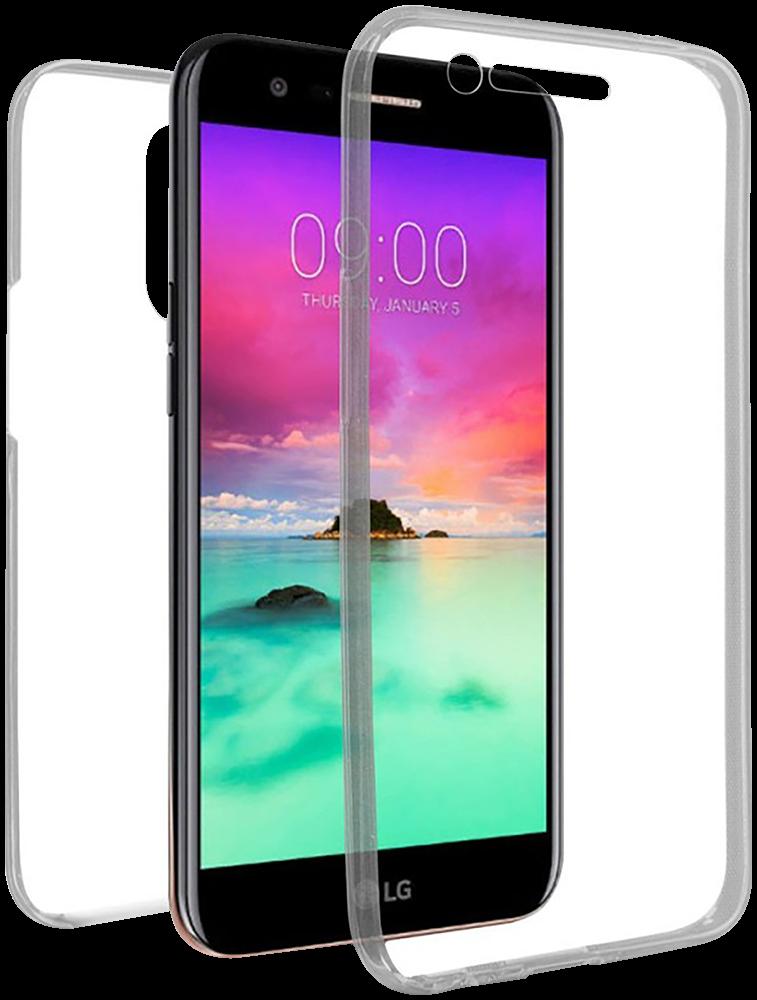 LG K10 2017 (M250N) szilikon tok 360° védelem átlátszó