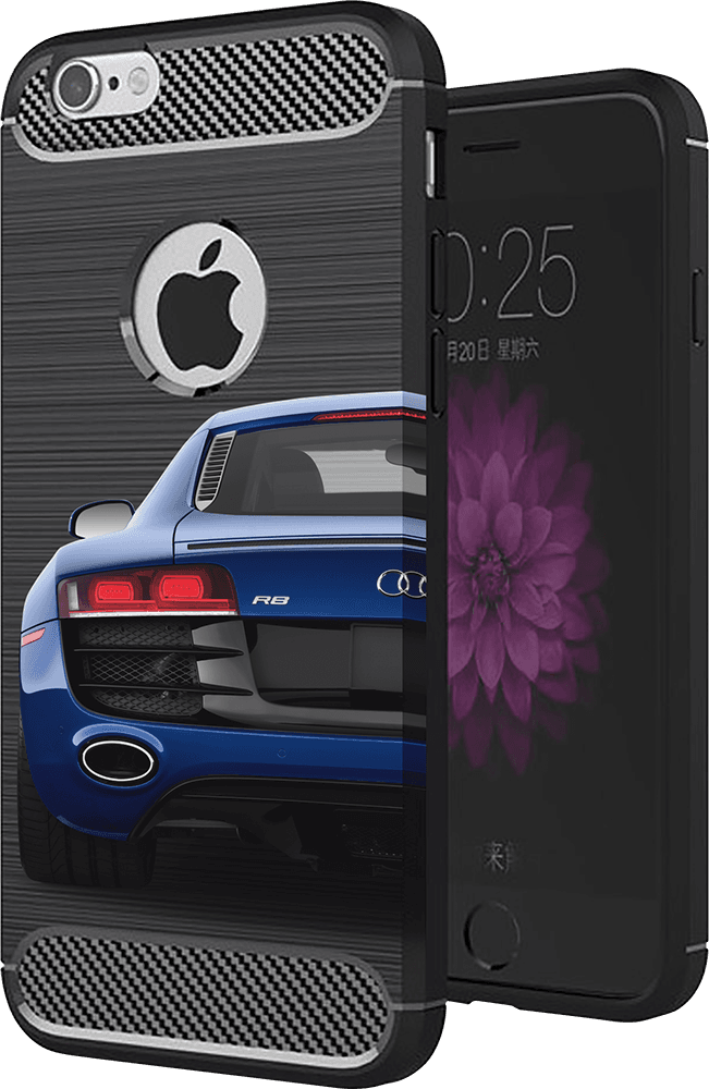 Xiaomi Redmi 5 ütésálló TPU tok szálcsiszolt - karbon mintás légpárnás sarok fekete
