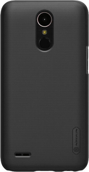 LG K10 2017 (M250N) oldalra nyíló flipes műanyag tok fekete