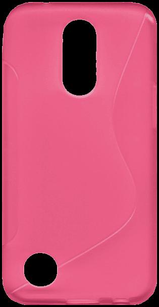 LG K10 2017 (M250N) szilikon tok s-line rózsaszín