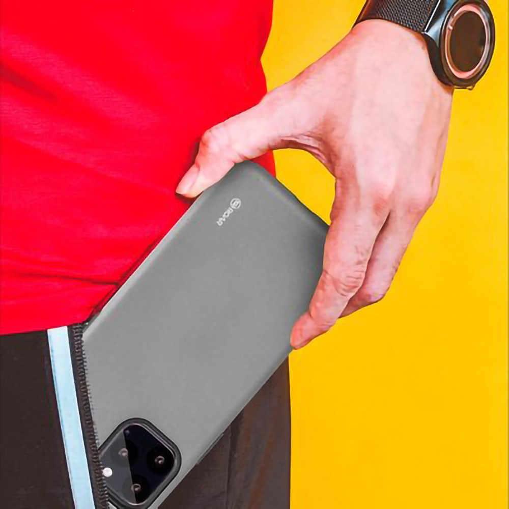 Huawei P40 ütésálló tok gyári ROAR RICO ARMOR matt fekete