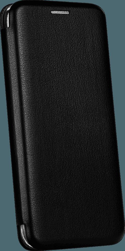 Xiaomi Redmi Note 9T oldalra nyíló flipes bőrtok prémium minőség fekete