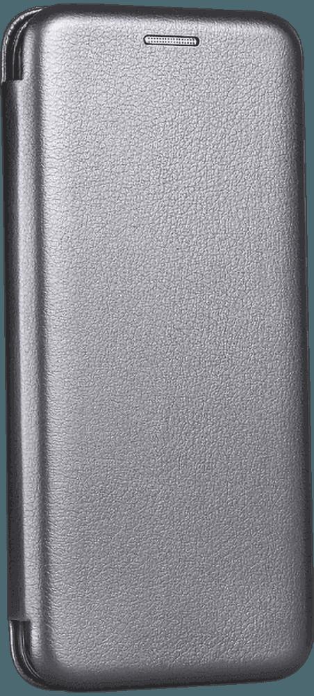 Xiaomi Redmi Note 9T oldalra nyíló flipes bőrtok prémium minőség ezüst