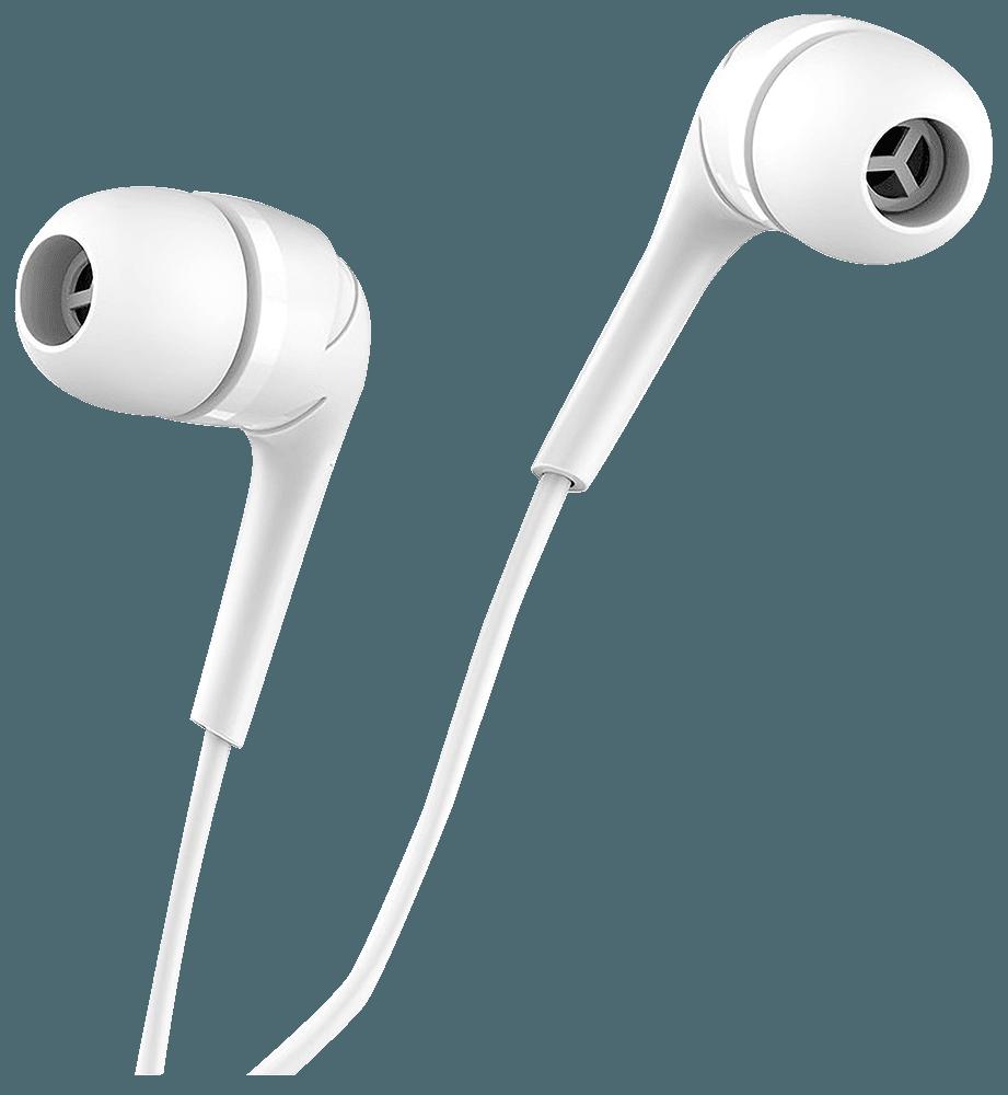 Xiaomi Redmi 4X fülhallgató - headset nagy teljesítményű, univerzális fehér