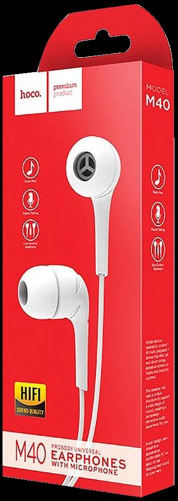 Xiaomi Redmi 5 fülhallgató - headset nagy teljesítményű, univerzális fehér