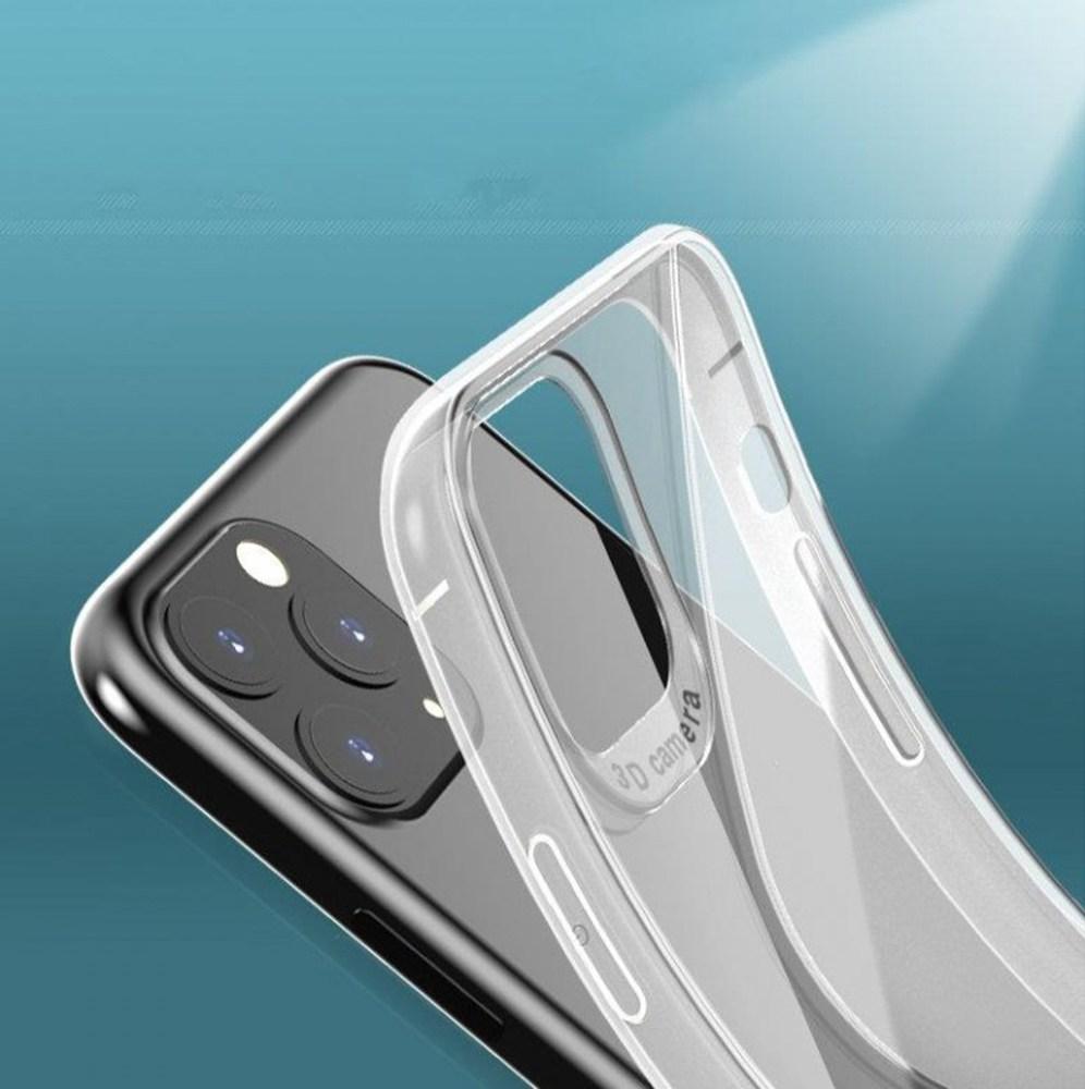 Apple iPhone 6S szilikon tok logó kihagyós S-CASE átlátszó füstszínű