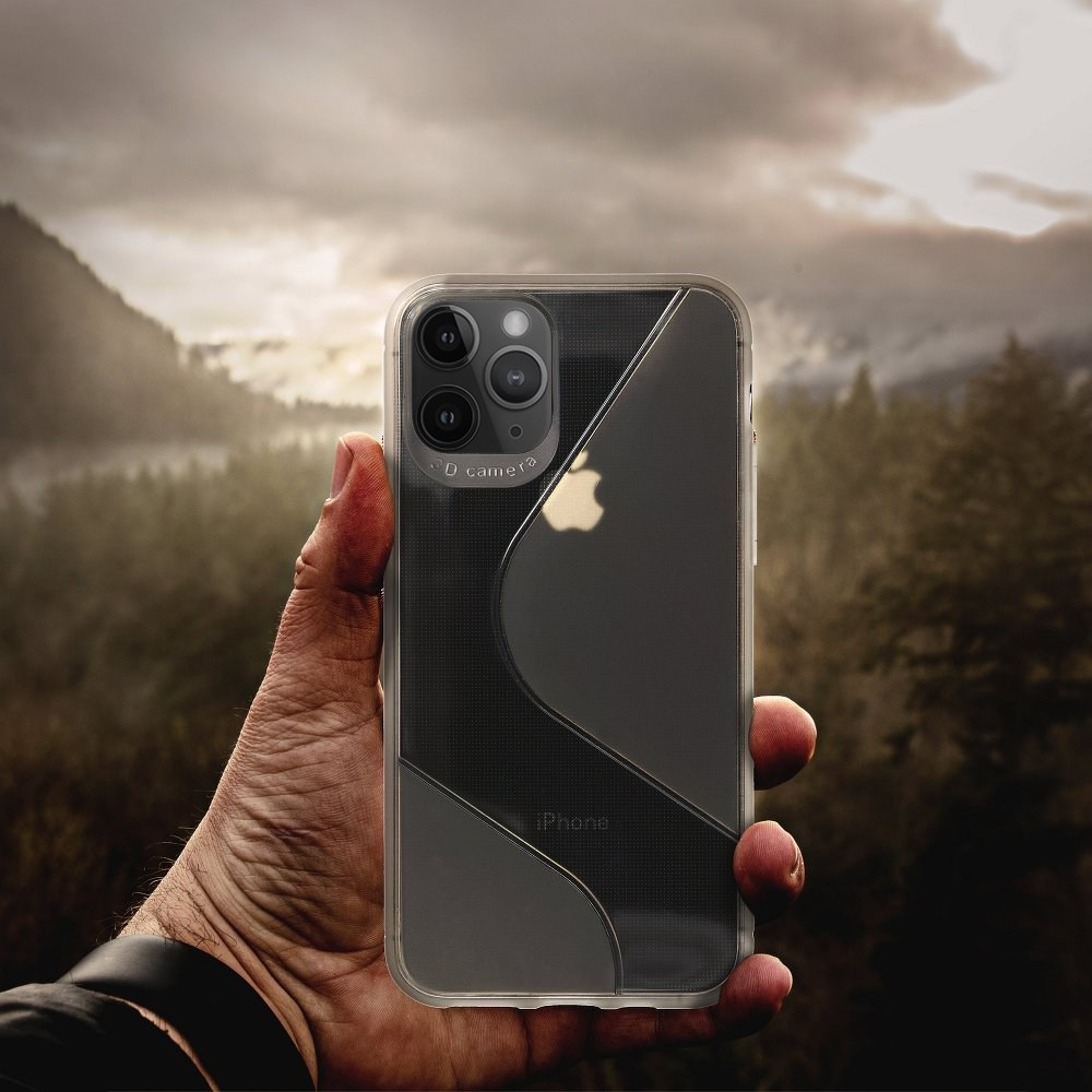 Apple iPhone 11 szilikon tok S-CASE átlátszó