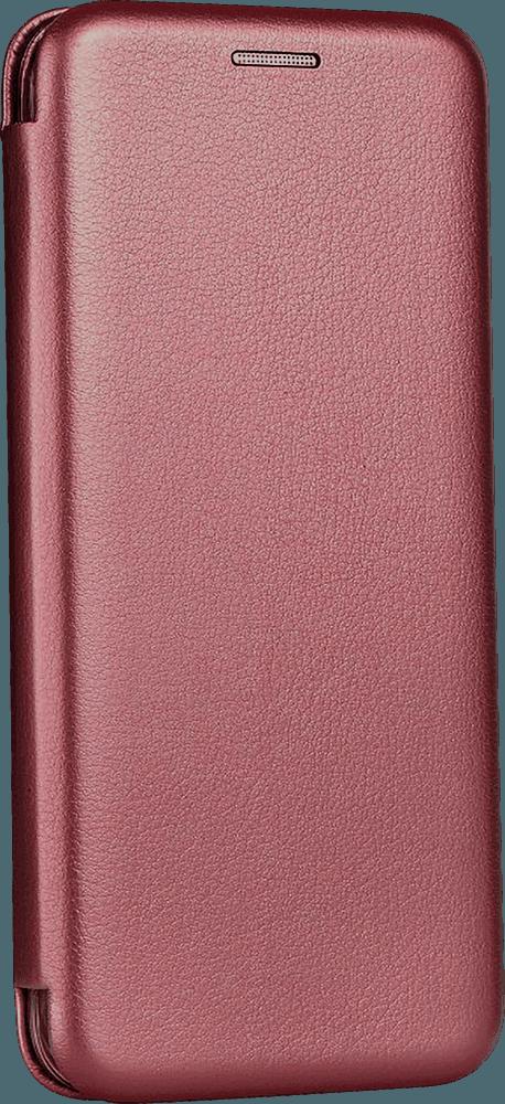 Apple iPhone 6S oldalra nyíló mágneses flipes bőrtok prémium minőség bordó
