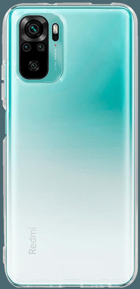Xiaomi Redmi Note 10s szilikon tok közepesen ütésálló átlátszó