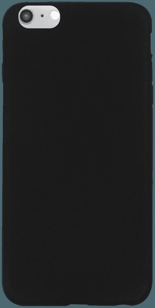 Apple iPhone 6 Plus szilikon tok matt fekete