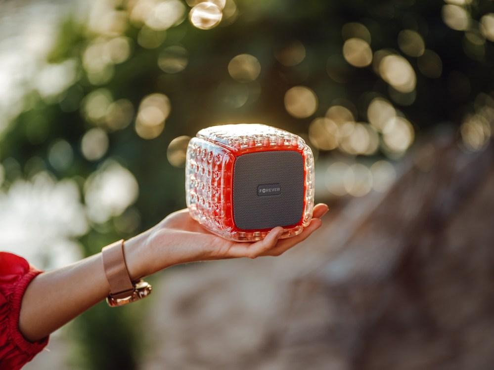 Xiaomi Pocophone M3 bluetooth hangszóró Forever BumpAir piros