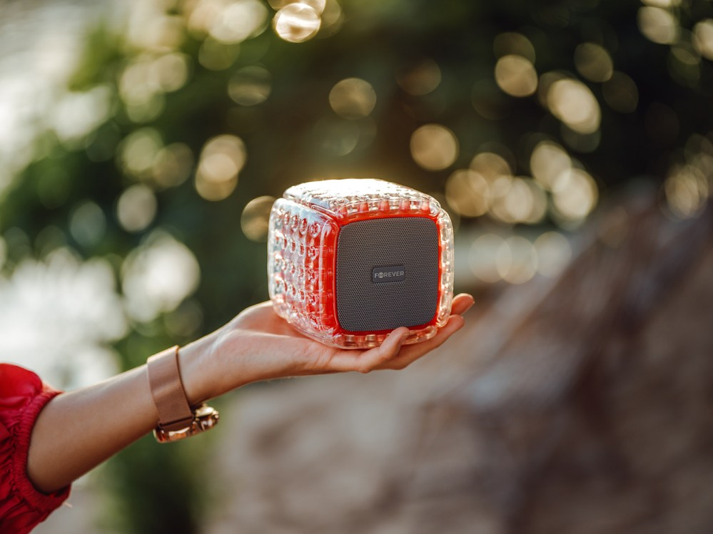 Xiaomi Mi Play bluetooth hangszóró Forever BumpAir piros