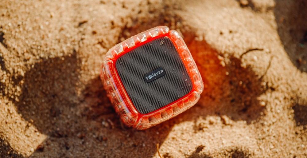 Samsung Galaxy A72 5G (SM-A726B) bluetooth hangszóró Forever BumpAir piros