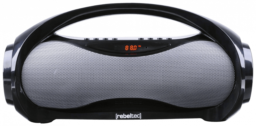 Xiaomi Poco X3 NFC bluetooth hangszóró Rebeltec Soundbox fekete