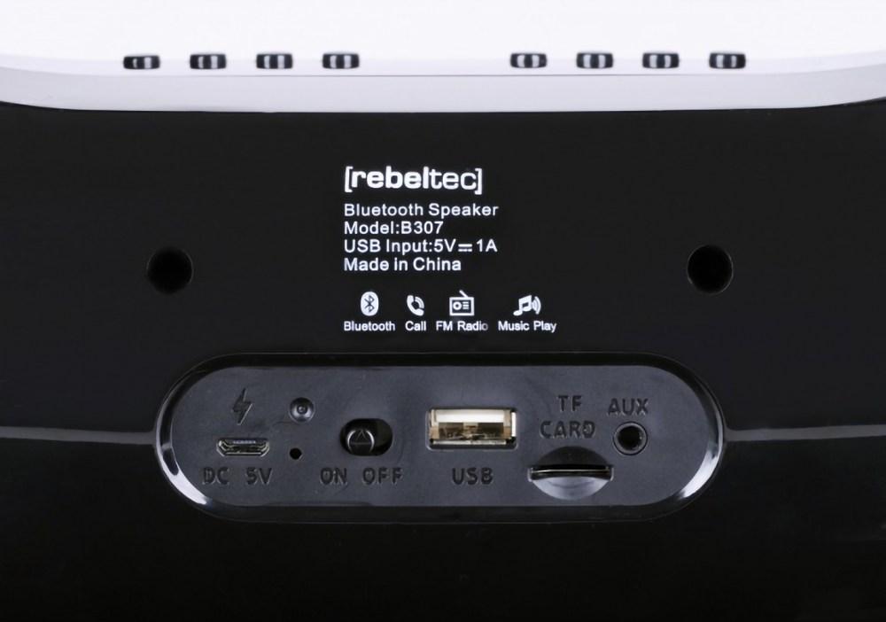 Xiaomi Mi Pad 4 Plus 10.1 bluetooth hangszóró Rebeltec Soundbox fekete
