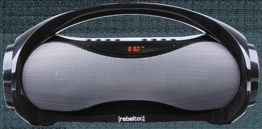 Xiaomi Redmi 5 bluetooth hangszóró Rebeltec Soundbox fekete