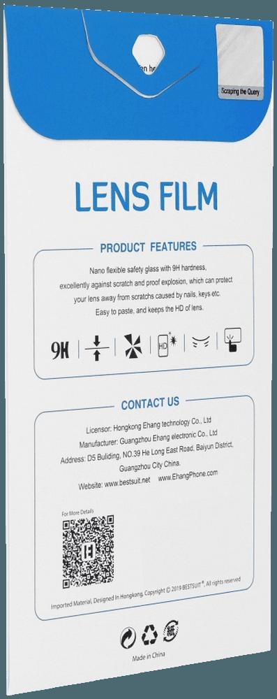 Apple iPhone XS kameralencse védő üvegfólia flexibilis, hibrid