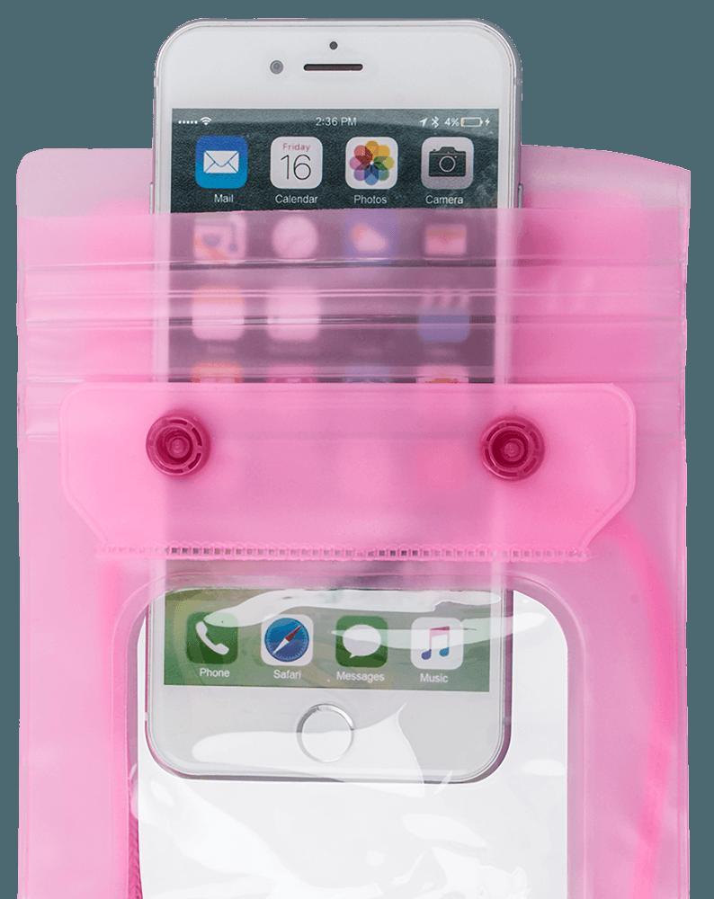 Xiaomi Redmi 4X vízálló tok univerzális rózsaszín