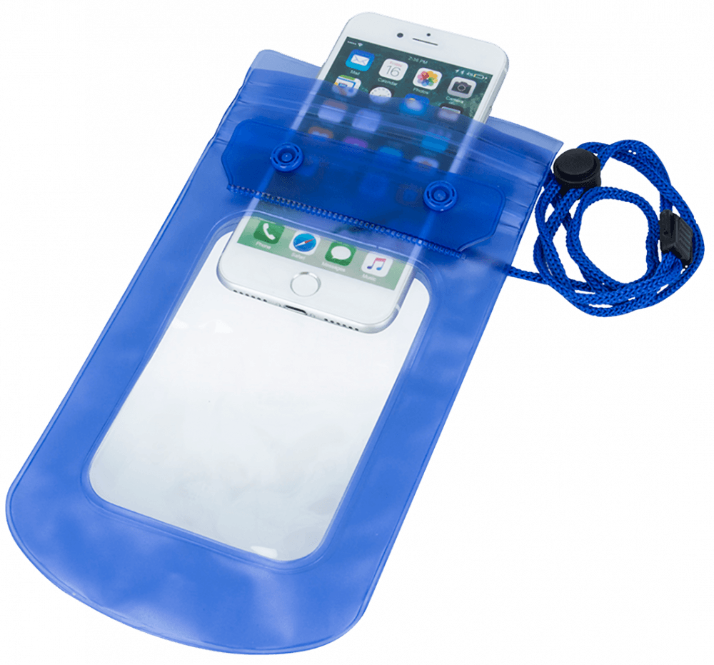 Xiaomi Mi Note 3 vízálló tok univerzális kék