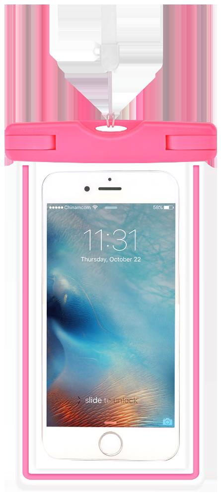 LG K10 2017 (M250N) vízálló tok Devia Ranger univerzális rózsaszín