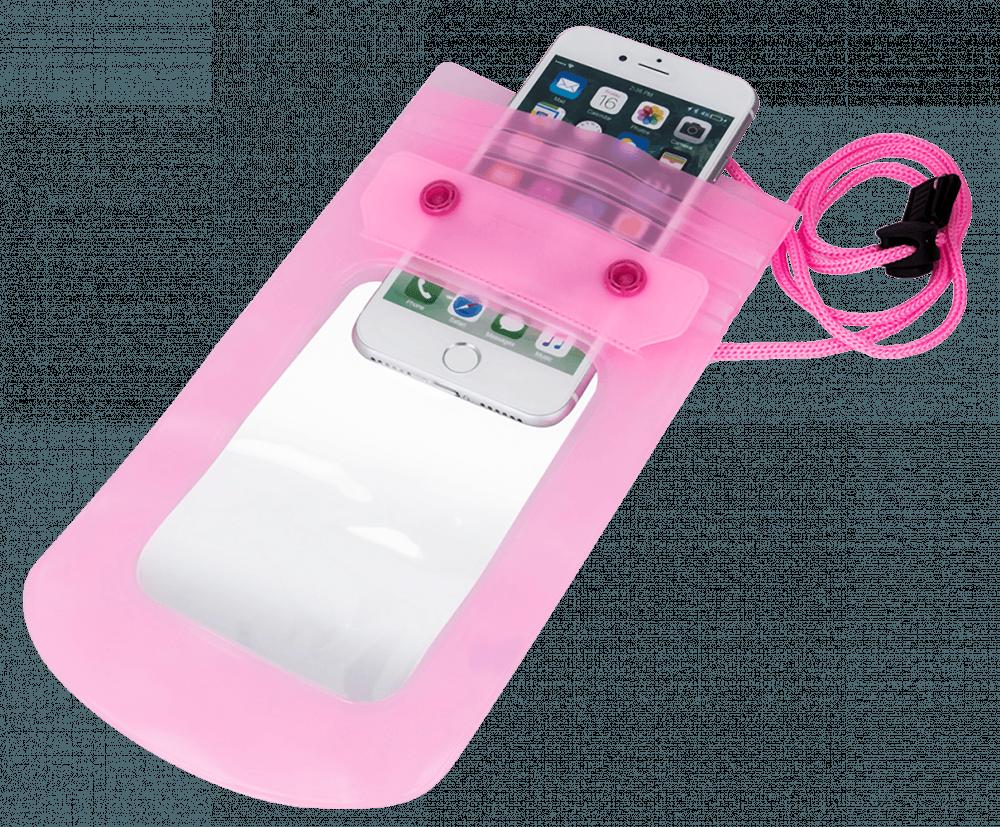 Xiaomi Mi Note 3 vízálló tok univerzális rózsaszín