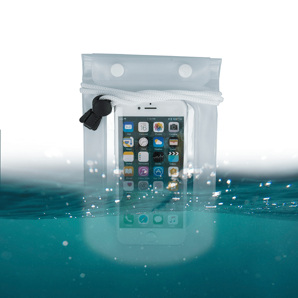 Xiaomi Mi Note 3 vízálló tok univerzális átlátszó