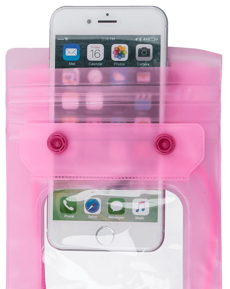 LG K10 2017 (M250N) vízálló tok univerzális rózsaszín