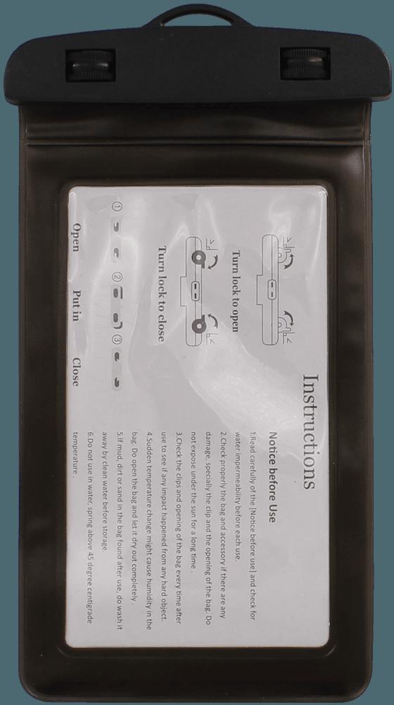 Xiaomi Redmi 4X vízálló tok univerzális fekete
