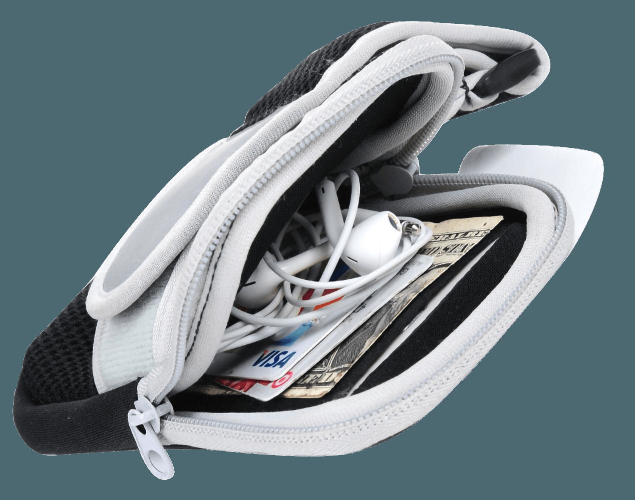LG K10 2017 (M250N) sport tok univerzális, karra rögzíthető cipzáros kék