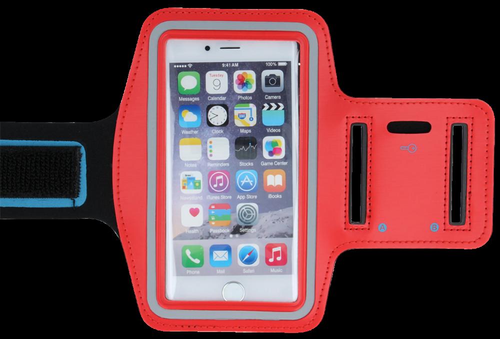 Xiaomi Mi Play sport tok univerzális, karra rögzíthető piros