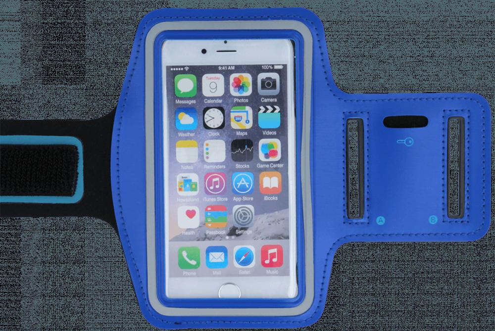 Xiaomi Mi Note 3 sport tok univerzális, karra rögzíthető kék