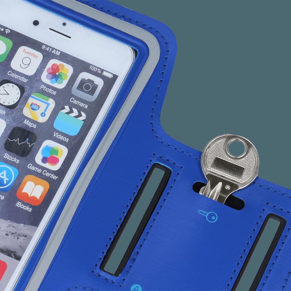 Xiaomi Redmi 5 Plus sport tok univerzális, karra rögzíthető kék
