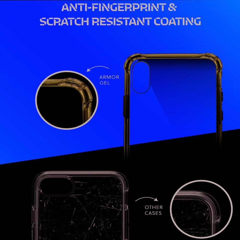 Xiaomi Pocophone F1 kemény hátlap gyári ROAR légpárnás sarok átlátszó