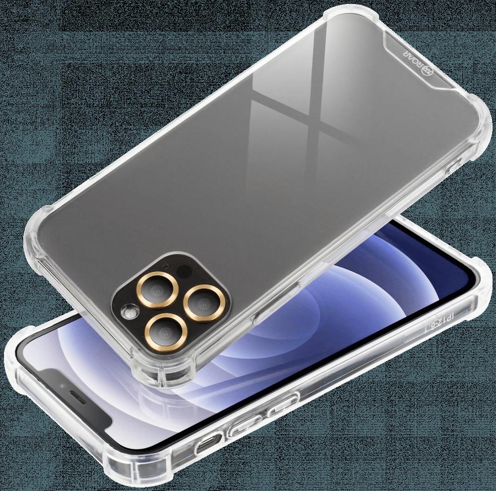 Apple iPhone XS kemény hátlap gyári ROAR légpárnás sarok átlátszó