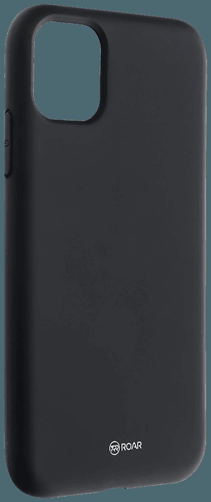 Apple iPhone 11 szilikon tok gyári ROAR fekete