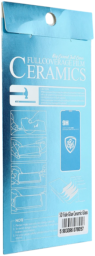 Xiaomi Redmi Note 9T 5D Full Glue kerámia üvegfólia
