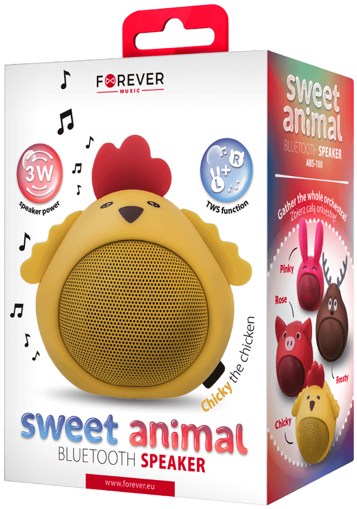 Samsung Galaxy A72 5G (SM-A726B) bluetooth hangszóró Forever Sweet Animal Chicky csirke